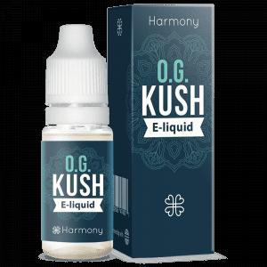 OG Kush CBD E-Liquid - Tinh dầu Vape CBD từ Harmony - cbdviet.com