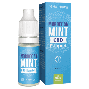 Moroccan Mint CBD E-Liquid – Dầu Vape CBD từ Harmony - CBD Việt - cbdviet.com