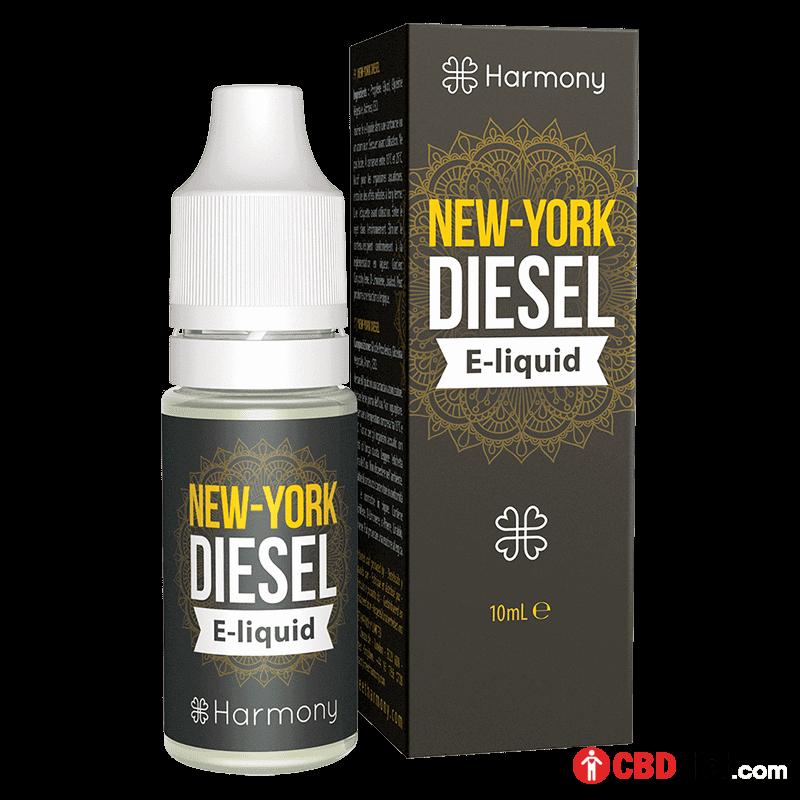 New-York Diesel CBD E-Liquid – Dầu Vape CBD từ Harmony - CBD Việt - cbdviet.com