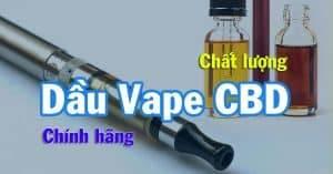 CBD Vape Oil (CBD E-liquid, CBD Vape Juice) de la tienda de CBD de Vietnam - cbdviet.com