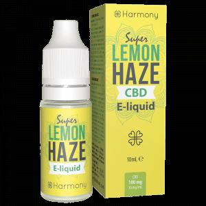 Super Lemon Haze CBD E-Liquid - Dầu Vape CBD từ Harmony - CBD Việt - cbdviet.com